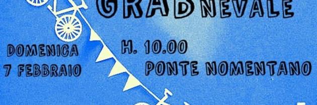 """7 febbraio """"GRABnevale"""" Pedalata sulle tracce del GRAB da Ponte Nomentano ai Fori imperiali"""