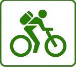 icone bici verde