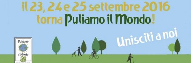"""COMUNICATO""""PULIAMO IL MONDO 2016"""" NEI PARCHI DI ROMANATURA"""