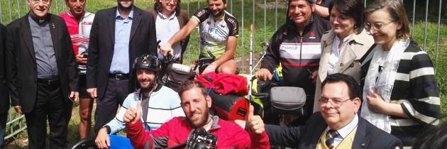 COMUNICATO STAMPA: Via Francigena per tutti. Pietro Scidurlo arriva a Villa Mazzanti