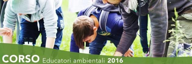 CORSO PER EDUCATORI AMBIENTALI 2016