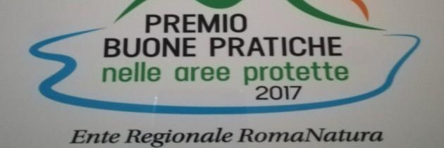 COMUNICATO STAMPA  PREMIO PER LA BIODIVERSITA' AGRICOLA A ROMANATURA DA FESTAMBIENTE 2017