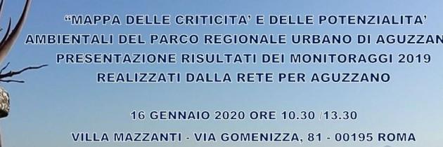 Save the date 16 gennaio- Villa Mazzanti   Presentazione Risultati monitoraggio PRU Aguzzano